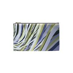 Wavy Ribbons Background Wallpaper Cosmetic Bag (Small)