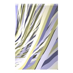 Wavy Ribbons Background Wallpaper Shower Curtain 48  x 72  (Small)