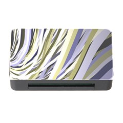 Wavy Ribbons Background Wallpaper Memory Card Reader with CF