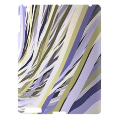Wavy Ribbons Background Wallpaper Apple iPad 3/4 Hardshell Case