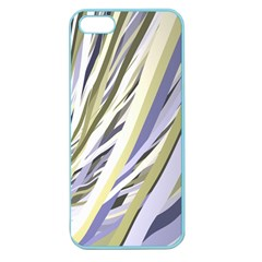 Wavy Ribbons Background Wallpaper Apple Seamless Iphone 5 Case (color)