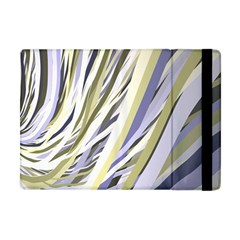 Wavy Ribbons Background Wallpaper Apple iPad Mini Flip Case