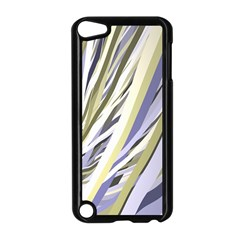 Wavy Ribbons Background Wallpaper Apple iPod Touch 5 Case (Black)