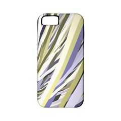 Wavy Ribbons Background Wallpaper Apple Iphone 5 Classic Hardshell Case (pc+silicone)