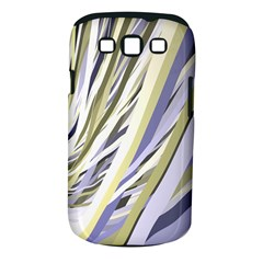 Wavy Ribbons Background Wallpaper Samsung Galaxy S III Classic Hardshell Case (PC+Silicone)