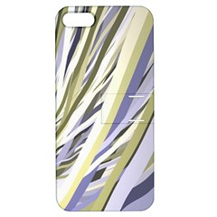 Wavy Ribbons Background Wallpaper Apple iPhone 5 Hardshell Case with Stand