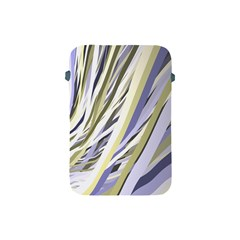 Wavy Ribbons Background Wallpaper Apple Ipad Mini Protective Soft Cases