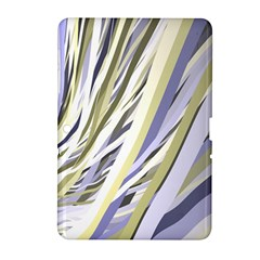 Wavy Ribbons Background Wallpaper Samsung Galaxy Tab 2 (10 1 ) P5100 Hardshell Case