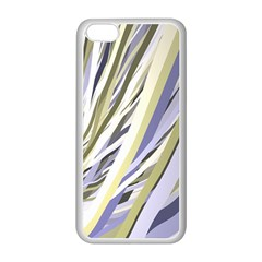 Wavy Ribbons Background Wallpaper Apple Iphone 5c Seamless Case (white)