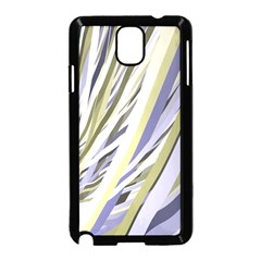 Wavy Ribbons Background Wallpaper Samsung Galaxy Note 3 Neo Hardshell Case (black)