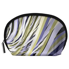 Wavy Ribbons Background Wallpaper Accessory Pouches (Large)