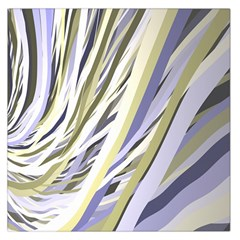 Wavy Ribbons Background Wallpaper Large Satin Scarf (square)