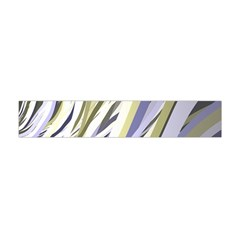 Wavy Ribbons Background Wallpaper Flano Scarf (mini)
