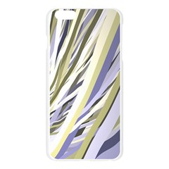Wavy Ribbons Background Wallpaper Apple Seamless iPhone 6 Plus/6S Plus Case (Transparent)
