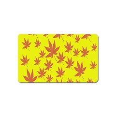 Autumn Background Magnet (Name Card)