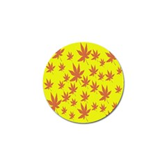 Autumn Background Golf Ball Marker (4 pack)