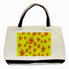 Autumn Background Basic Tote Bag (Two Sides)