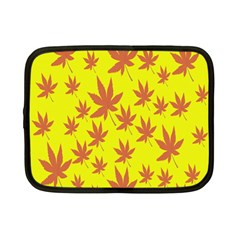 Autumn Background Netbook Case (Small)