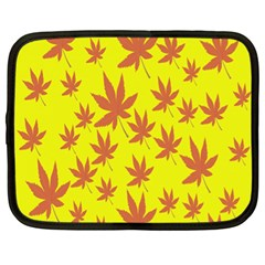 Autumn Background Netbook Case (XL)