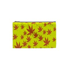 Autumn Background Cosmetic Bag (Small)