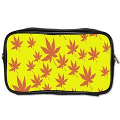 Autumn Background Toiletries Bags 2-Side
