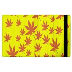 Autumn Background Apple iPad 2 Flip Case