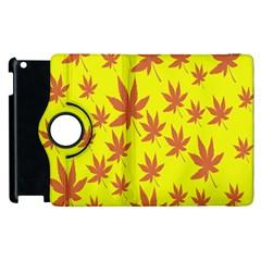 Autumn Background Apple Ipad 2 Flip 360 Case