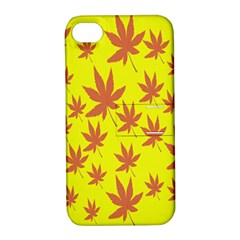 Autumn Background Apple iPhone 4/4S Hardshell Case with Stand