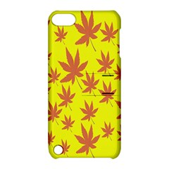 Autumn Background Apple Ipod Touch 5 Hardshell Case With Stand