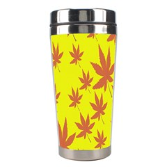 Autumn Background Stainless Steel Travel Tumblers