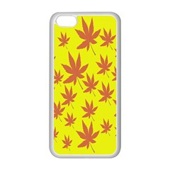 Autumn Background Apple Iphone 5c Seamless Case (white)