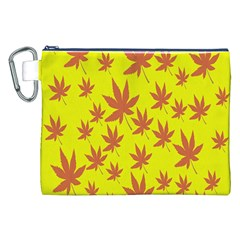Autumn Background Canvas Cosmetic Bag (XXL)