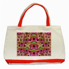 It Is Lotus In The Air Classic Tote Bag (Red)