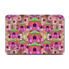 It Is Lotus In The Air Small Doormat