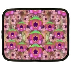 It Is Lotus In The Air Netbook Case (Large)