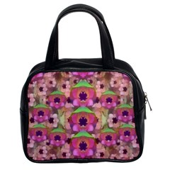 It Is Lotus In The Air Classic Handbags (2 Sides)