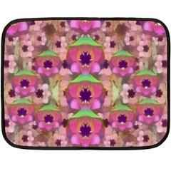 It Is Lotus In The Air Fleece Blanket (mini)