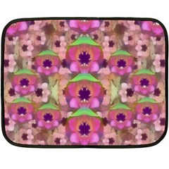 It Is Lotus In The Air Double Sided Fleece Blanket (Mini)