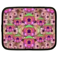 It Is Lotus In The Air Netbook Case (xl)
