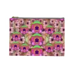 It Is Lotus In The Air Cosmetic Bag (Large)