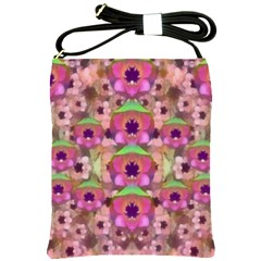 It Is Lotus In The Air Shoulder Sling Bags