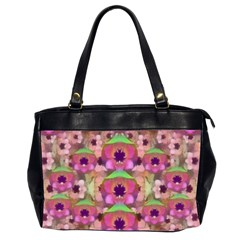 It Is Lotus In The Air Office Handbags (2 Sides)