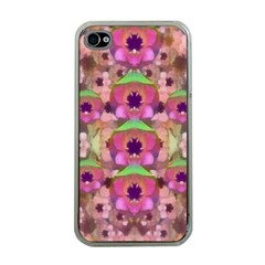 It Is Lotus In The Air Apple iPhone 4 Case (Clear)