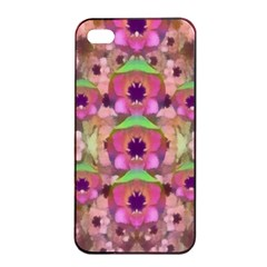 It Is Lotus In The Air Apple iPhone 4/4s Seamless Case (Black)