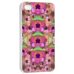 It Is Lotus In The Air Apple iPhone 4/4s Seamless Case (White)