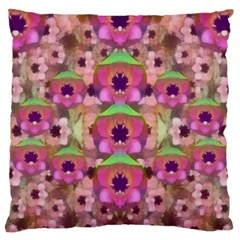 It Is Lotus In The Air Large Cushion Case (Two Sides)