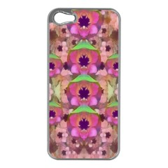 It Is Lotus In The Air Apple iPhone 5 Case (Silver)