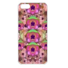 It Is Lotus In The Air Apple iPhone 5 Seamless Case (White)