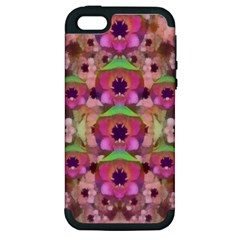 It Is Lotus In The Air Apple iPhone 5 Hardshell Case (PC+Silicone)