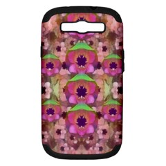 It Is Lotus In The Air Samsung Galaxy S Iii Hardshell Case (pc+silicone)